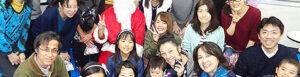 英会話スクールトーク・アベニューのクリスマスパーティー写真