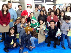 英会話スクールトーク・アベニュー新宿クリスマスパーティーの写真